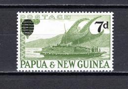 PAPOUASIE ET Nlle GUINEE    N° 17     NEUF AVEC CHARNIERE  COTE  1.25€    BATEAUX - Papouasie-Nouvelle-Guinée