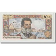 France, 50 Nouveaux Francs, Henri IV, 1959, 1959-09-03, SPL, Fayette:58.3 - 50 NF 1959-1961 ''Henri IV''