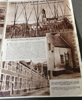 LIERRE..1945.. RENDEZ-VOUS DES GÉARTS, CENTRE D 'ARTISANAT ARTISTIQUE / REPORTAGE ANDRÉ CAUVIN - Zonder Classificatie