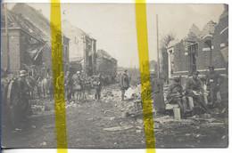 59 NORD ARMENTIERES  CARTE PHOTO ALLEMANDE MILITARIA 1914/1918 WW1 WK1 - Armentieres