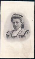 Doodsprentje Met Foto Julia Augusta Van Den Bossche ° Turnhout 1892 - 1911 - Santini