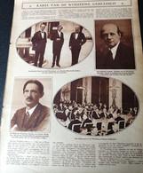 KAREL VAN DE WOESTIJNE GEHULDIGD ..1928.. GUSTAAF VAN DE WOESTIJNE / WAALSE DICHTER UIT COUVIN RONELYR - Zonder Classificatie