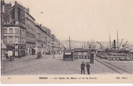 Rouen, Les Quais Du Havre Et De La Bourse. - Rouen