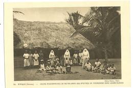 Dahomey - AFRIQUE  - Soeurs Missionnaires De Notre Dame Des Apotres En Promenade Avec Leurs Eleves   141 - Dahomey