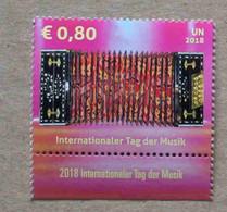 Vi18-02 : Nations-Unies (Vienne) / Journée Internationale De La Musique (1er Octobre) - Bandonéon - Ongebruikt