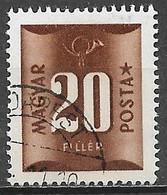 Hungary 1951. Scott #J203 (U) Numeral Of Value - Strafport