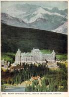 Banff Springs Hotel,Rocky Mountains,Canada - Banff