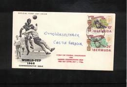 Bermuda 1966 World Football Cup England Interesting Letter - 1966 – Engeland