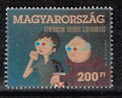 Ungarn 2012,Michel# 5568 O Solidarity Between Generations - Gebruikt
