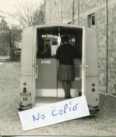 Ardennes. SAINT GERMAINMONT. 28.3.1968 AIRE Annexe Mobile Fourgon Cour De La Mairie - Unclassified