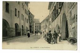 Annecy - Rue Ste Claire ( Animation, Attelage De Boeufs ) - Pas Circulé - Annecy-le-Vieux