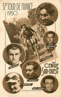 37ème Tour De France Cycliste 1950 * CPA * Coureurs Cycliste MOUJICA DOLHATS DUSSAULT BARATIN DESBATS MASSAL - Ciclismo