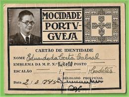 Lisboa - Cartão Da Mocidade Portuguesa - Portugal - Zonder Classificatie