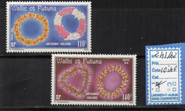 Wallis - ** 241/42 - Used Stamps