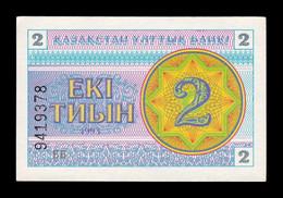 Kazajistan Kazakhstan 2 Tyin 1993 Pick 2c SC- AUNC - Kasachstan