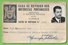 Lisboa - Cartão Da Casa De Repouso Dos Motoristas Portugueses - Autocarro - Bus - Portugal - Zonder Classificatie