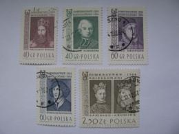 Polen  1485 - 1489  O - Oblitérés