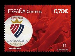 Spain 2021 Mih. 5502 CA Osasuna Football Club MNH ** - 2011-... Ongebruikt