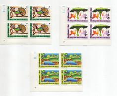San Marino - 1989 - Natura - Disegni Di Bambini - 3 Valori In Quartina - Nuove**- Con Bordo Di Foglio - (FDC27931) - Unused Stamps