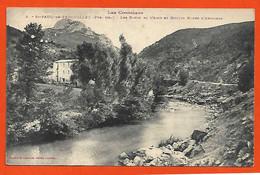 66 St Paul De Fenouillet Cpa Pas Courante Moulin Les Bords De L'Agly éditeur Labouche N°3 Dos Scanné - Autres Communes