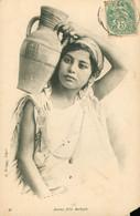 ALGERIE - Jeune Fille Kabyle - Circulée Début XXème - Femmes