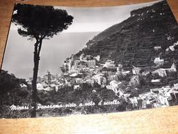 CARTOLINA MINORI SALERNO VISTA PANORAMICA VIAGG. 1953 - Salerno