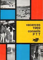 Fascicule Conseils PTT Pour Les Vacances 1969 - Zonder Classificatie