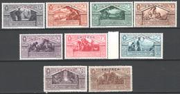 Eritrea 1930 Sass.179/87 **/MNH VF/F - Eritrea