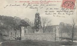 Guerre  De 1870  Monument  Pontarlier - Non Classificati