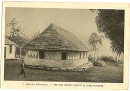 LANO - Iles Wallis Océanie - Une Case Indigène Servant De Grand Séminaire  154 - Wallis And Futuna