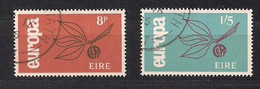 Cept 1965 Irlande Ireland Yvertn° 175-176 (o) Oblitéré - 1965