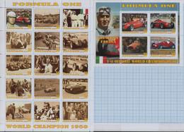Fantazy Labels Private Issue World Championship Formula One 1950 Cars Race Driver Giuseppe Farina Italy. 2020 - Viñetas De Fantasía