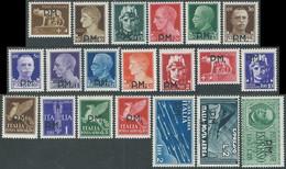 1942 REGNO POSTA MILITARE 20 VALORI MH * - RB9-10 - Military Mail (PM)