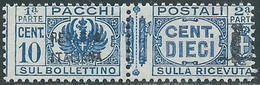 1944 RSI PACCHI POSTALI 10 CENT MNH ** - RB11-7 - Colis-postaux