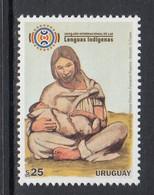 2019 Uruguay Indigenous Languages Culture Complete Set Of 1 MNH - Uruguay