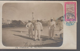 1910. Madagascar Et Dependances.  CARTE POSTALE Original Photo With The Local Police?... () - JF413419 - Storia Postale