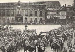 BEAUVAIS Place Jeanne Hachette Levée Des Corps Des Victimes Du Dirigeable R101 1930 - Zonder Classificatie