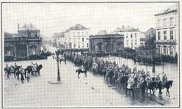 MALINES Parade De Troupes Allemandes Devant Le Général Von Bissing 1916 - Zonder Classificatie