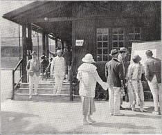 MENTON Siège Du Tennis Club 1924 - Zonder Classificatie