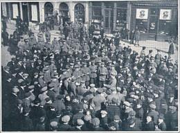 HASSELT Soldats Allemands Sur Une Place 1916 - Zonder Classificatie