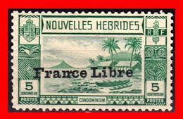 NOUVELLES HEBRIDES (  FRANCIA ) SOBRECARGA FRANCIA LIBRE - Sonstige