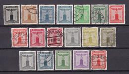 Deutsches Reich - 1938/42 - Dienst - Dienstmarke Der Partei - Gestempelt/Ungebr. - Used Stamps