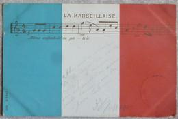 LA MARSEILLAISE. DRAPEAU TRICOLORE.CIRCULE 1900. CACHETS POSTE COLMAR Et PARIS. TBE. - Sin Clasificación