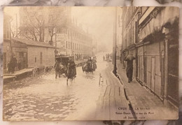 93 Lot De 5 Cartes SAINT DENIS Crue De La Seine 18 Janvier 1910 Crue De La Seine - Saint Denis