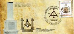 Lote 2020-8F, Colombia, 2020, FDC, SPD, Serenísima Gran Logia Nal De Colombia Con Sede En Cartagena De Indias, Mason - Colombia