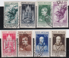Vatican   .   Y&T   .    72/79     .   O     .    Cancelled  .   /   .  Oblitéré - Used Stamps