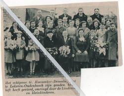 LOKEREN..1939.. GOUD VOOR DE ECHTELINGEN G. HOENACKER - DEMOTIE - Zonder Classificatie