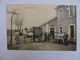 SCENE DE CASERNE - La Cantine  A1667 - Caserme