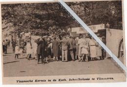 VLIMMEREN..1935.. VLAAMSCHE KERMIS IN DE KATH. SCHOOLKOLONIE - Zonder Classificatie