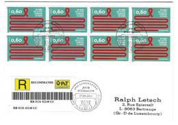 Luxembourg 2011 Sida Aids - Briefe U. Dokumente